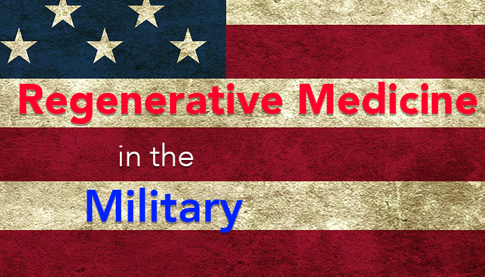 Regenerative Medicine Solutions in the US Military - Burst Biologics